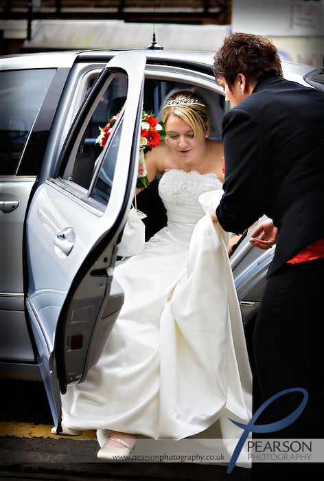 Bride Arrives at Register Office