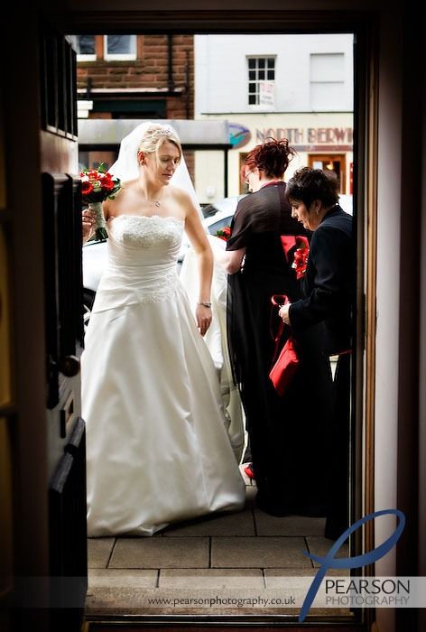 Bride Entering Register Office